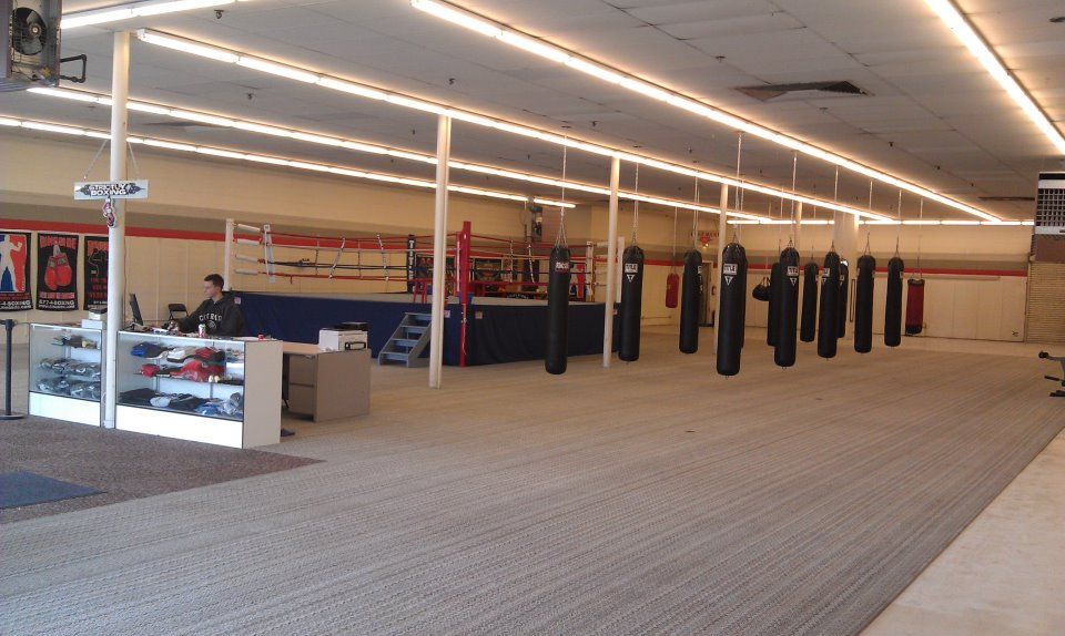 empty boxing gym - photo #2